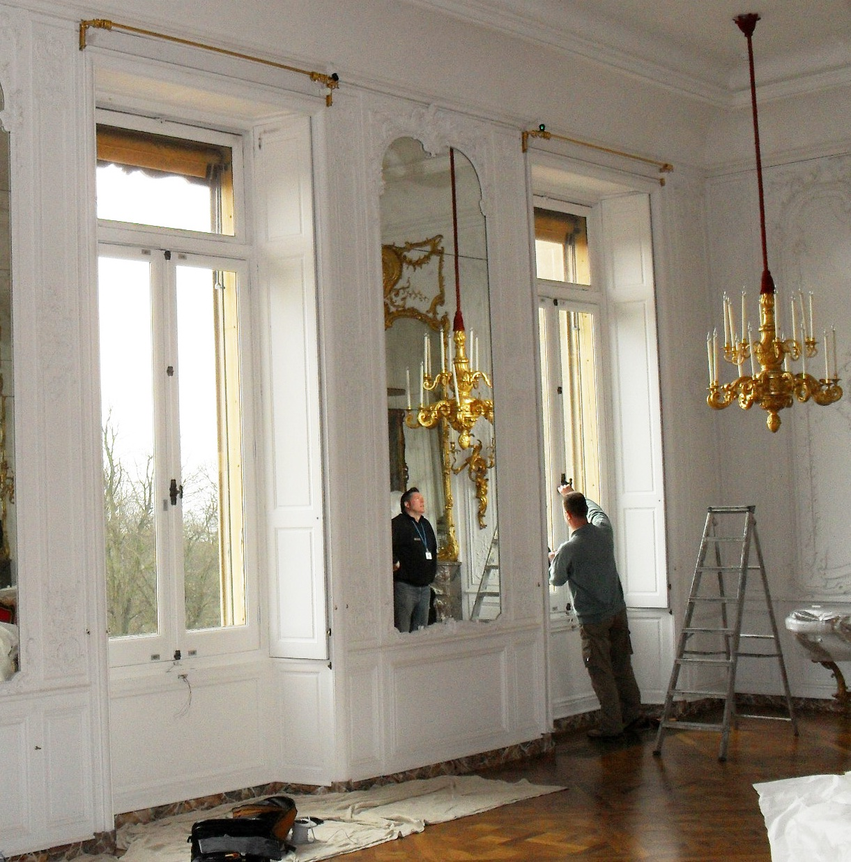 Window Alterations at historic house