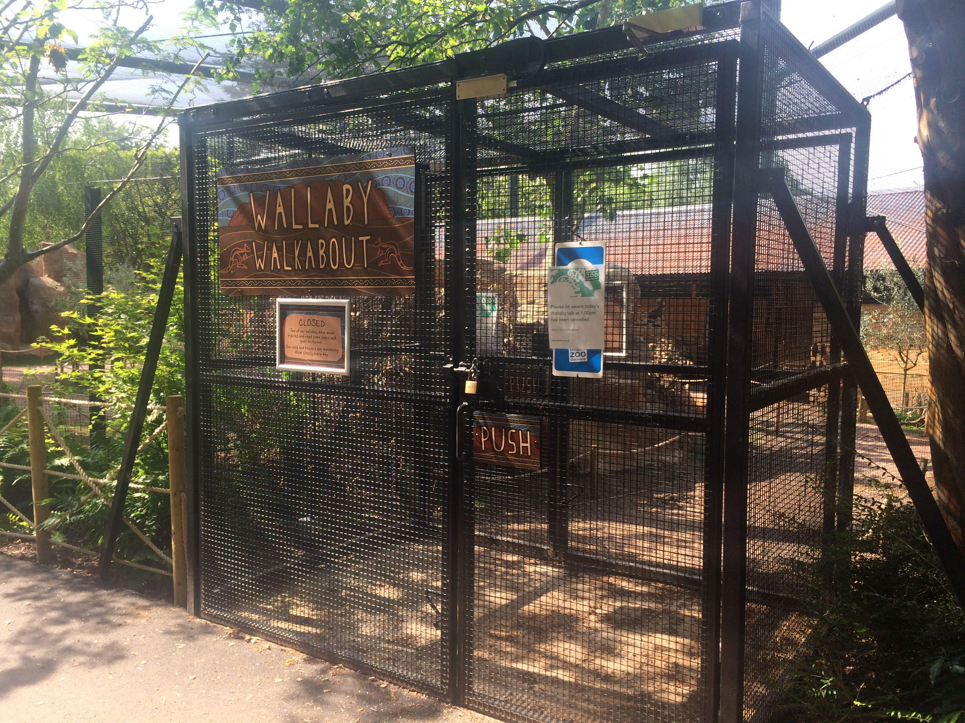 Interlock System added to Visitor Gates at Zoo Enclosure