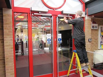 Automatic Door Maintenance