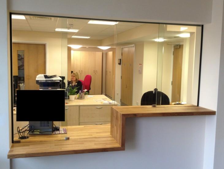 Avon Armour Sliding Screens Reception Counters Hospital
