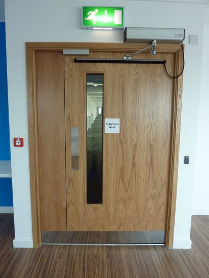 Automatic Door linked to Access Control System - Council Offices