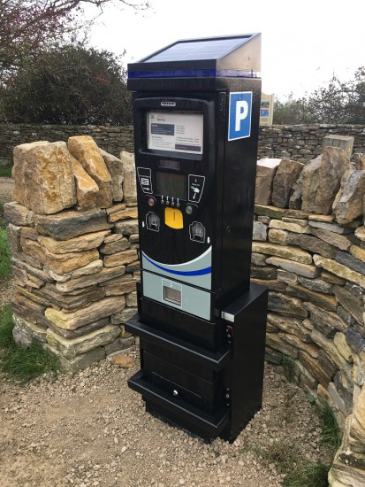 METRIC car park ticket machine protector 3