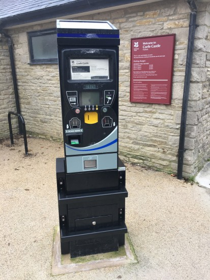 METRIC pay & display machine anti vandal sleeve 6