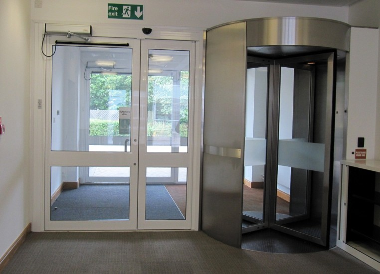 Swing and Revolving Automatic Doors