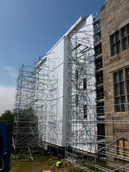 Refurbishment of 600 Leaded light windows at Castle Drogo