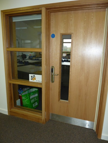 Salto access control to School classroom
