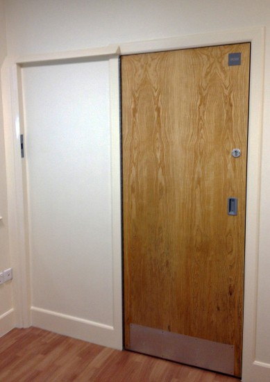 Seclusion Room - 180 Degree Opening and Locking Door - Closed