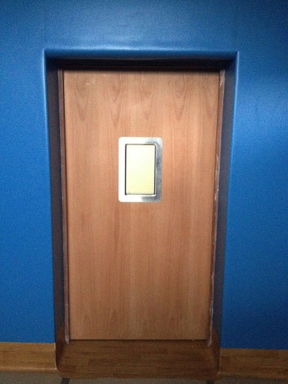 Seclusion Room Door - Internal View