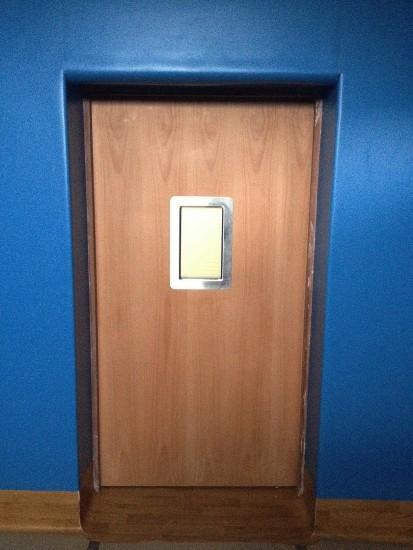 Seclusion Room Door - Internal View