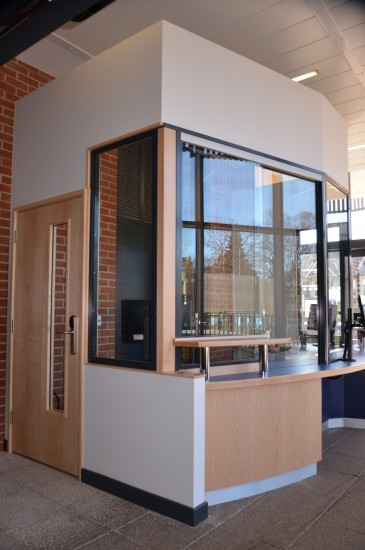 Cotham School - Avon Armour Sliding Screen and Access Controlled Door