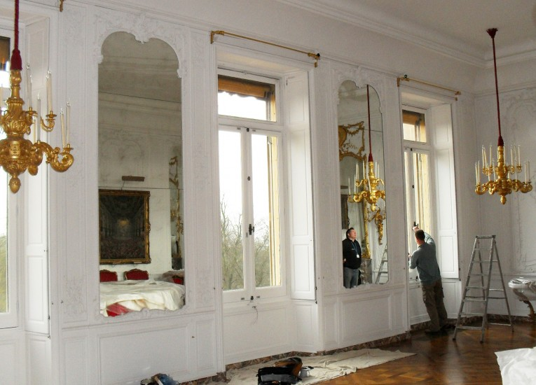 Window alterations at an historic house