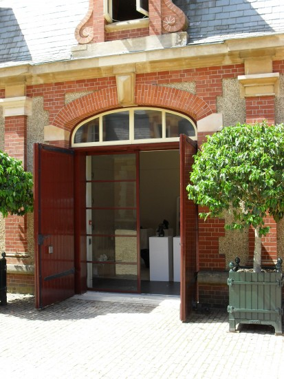 New sliding doors at Historic House Gallery
