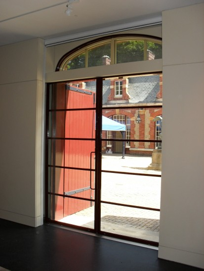 Sliding Automatic Door - Custom made for a Historic House